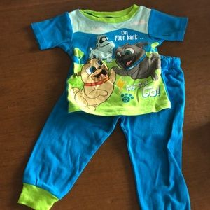 Puppy Dog Pals pajama set 3T